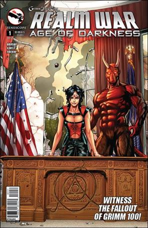 Grimm Fairy Tales Presents Realm War: Age of Darkness 1-E