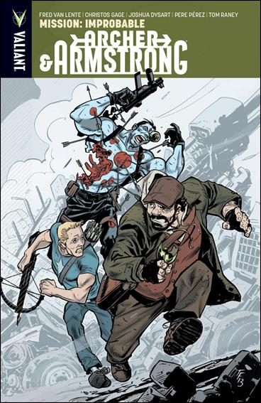 Archer & Armstrong 5-A by Valiant Entertainment