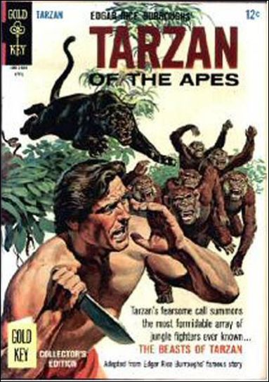 Tarzan (1962) 157-A by Gold Key