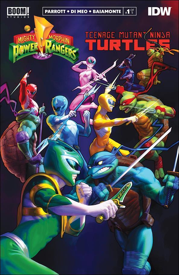 Mighty Morphin Power Rangers/Teenage Mutant Ninja Turtles 1-L by Boom! Studios