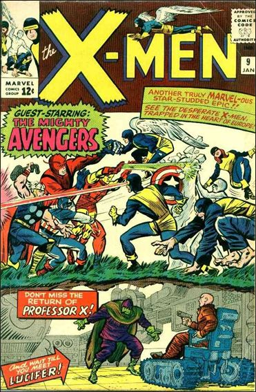 X-Men (1963) 9-A by Marvel