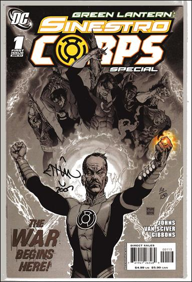 Green Lantern Sinestro Corps Special 1-E by DC