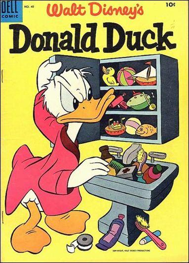Walt Disney's Donald Duck (1952) 40-A by Gold Key