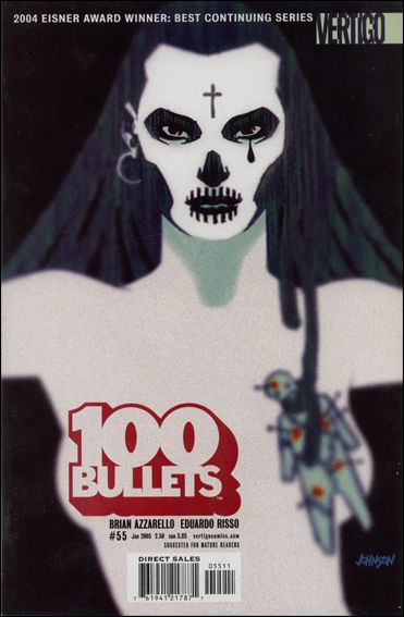 100 Bullets 55-A by Vertigo