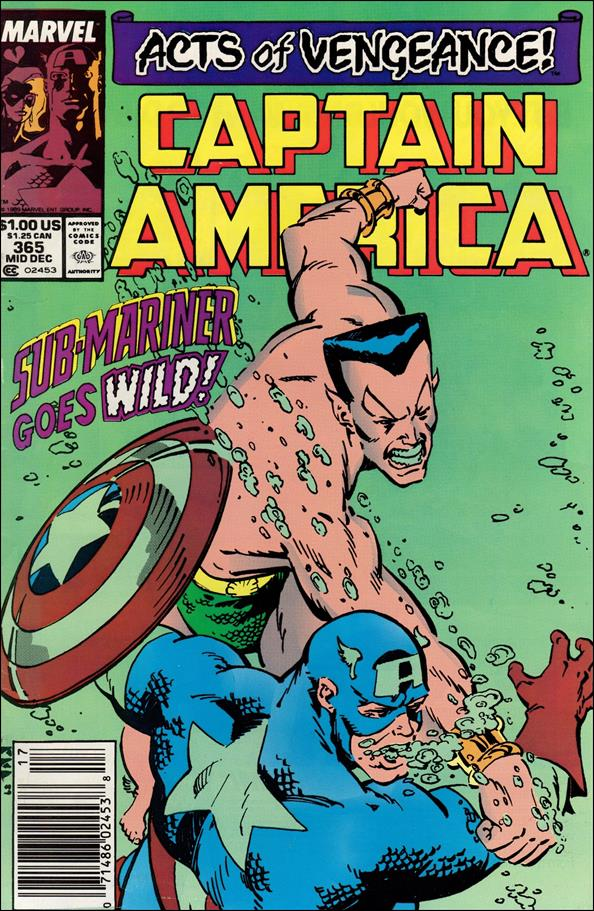 Captain America (1968) 365-A by Marvel