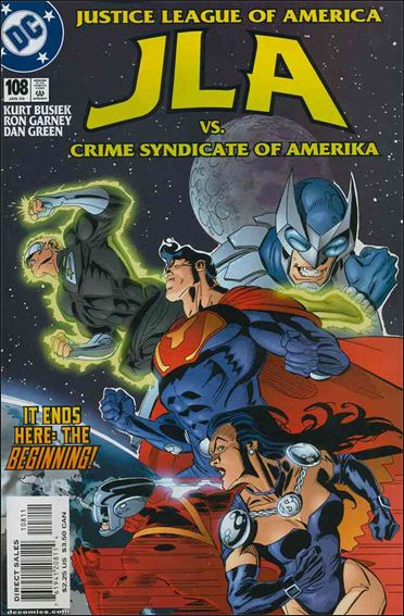 JLA 108-A by DC