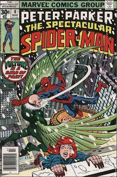 Spectacular Spider-Man (1976) 4-A by Marvel