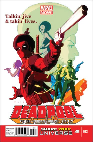 Deadpool (2013) 13-A by Marvel