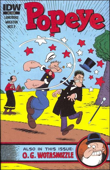 Popeye (2012) 2-A by IDW