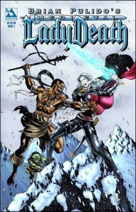 Brian Pulido's Medieval Lady Death 7-A by Avatar Press