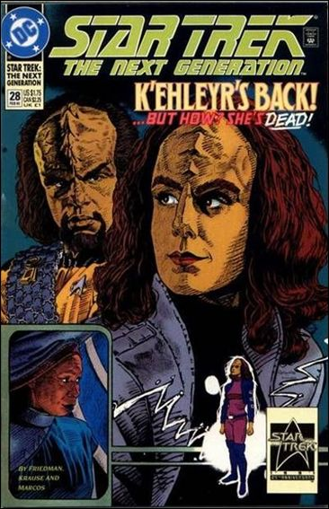 Star Trek: The Next Generation (1989) 28-A by DC