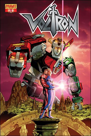 Voltron (2011) 11-A by Dynamite Entertainment