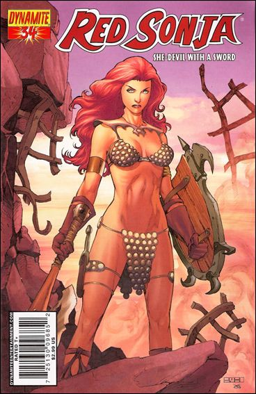 Red Sonja (2005) 34-C by Dynamite Entertainment