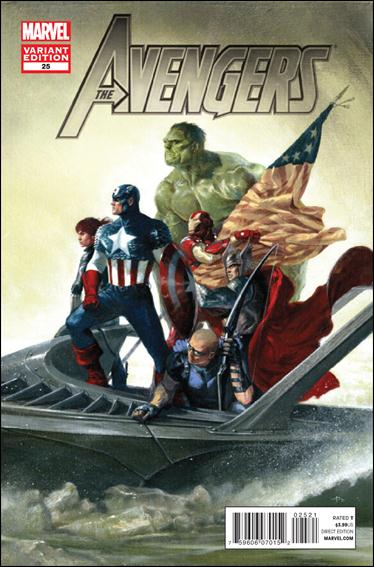 Avengers (2010) 25-B by Marvel