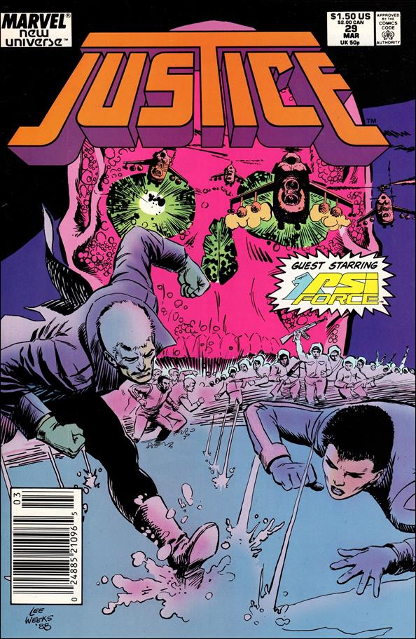 Justice (1986) 29-A by Marvel