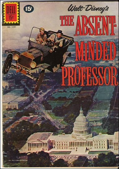 Walt Disney's the Absent Minded Professor 1-A by Dell