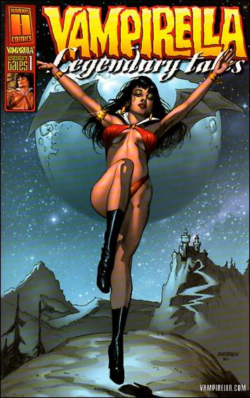 Vampirella Legendary Tales 1-B by Harris