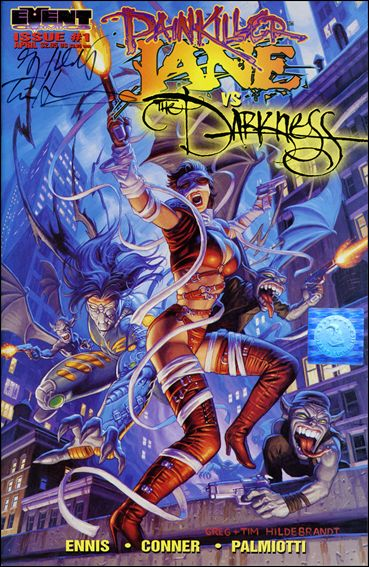 Painkiller Jane vs the Darkness: Stripper 1-F by Event Comics