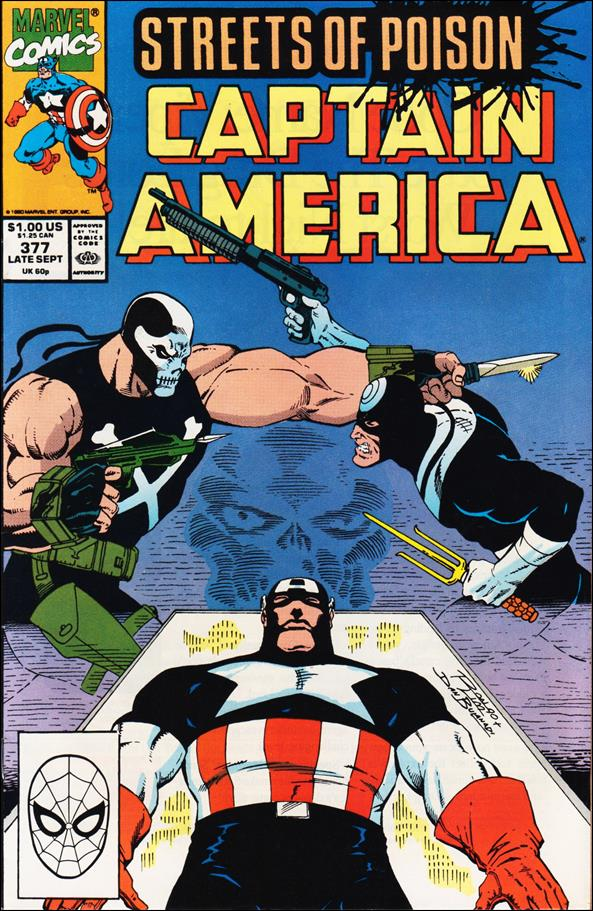 Captain America (1968) 377-A by Marvel