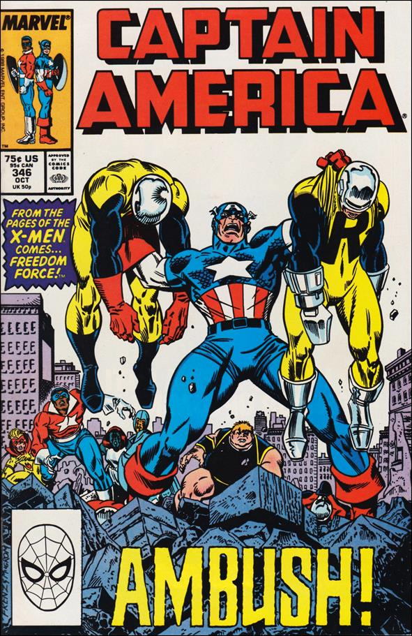 Captain America (1968) 346-A by Marvel