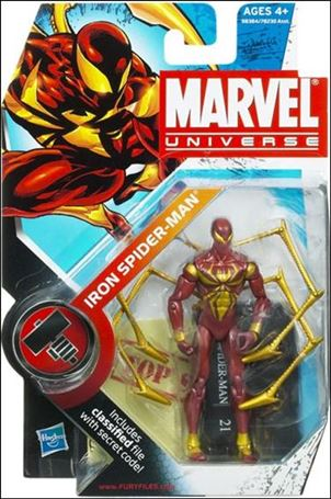 Marvel Universe (Series 2) Iron Spider-Man