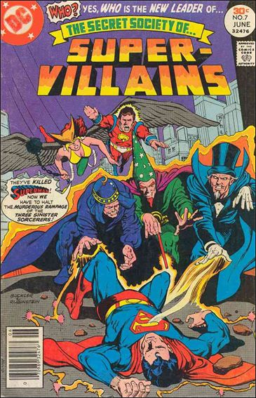 Secret Society of Super-Villains 7-A by DC