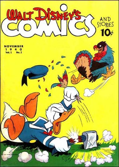Walt Disney's Comics and Stories (1940) 2-A by Dell