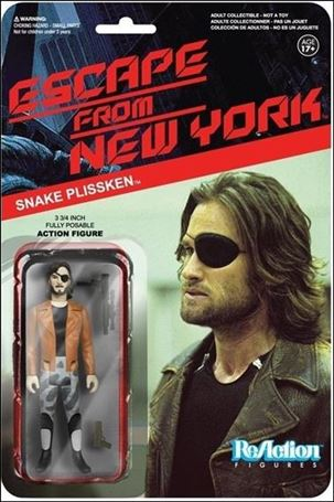 ReAction: Escape from New York Snake Plisskin with Jacket