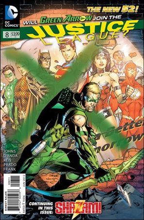 Justice League (2011) 8-A