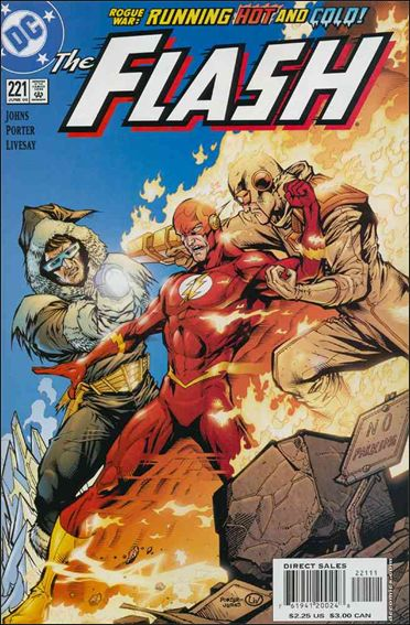 Flash (1987) 221-A by DC