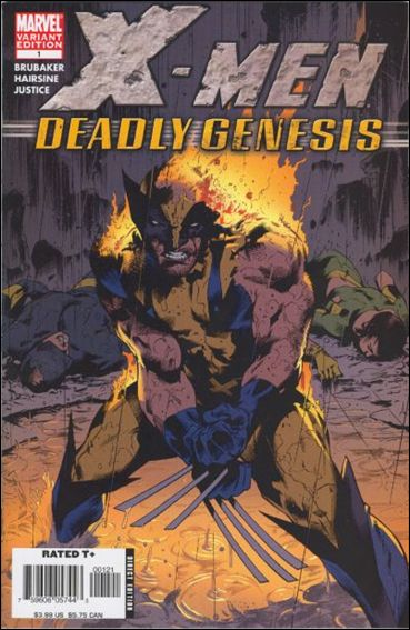 X-Men: Deadly Genesis 1-C by Marvel