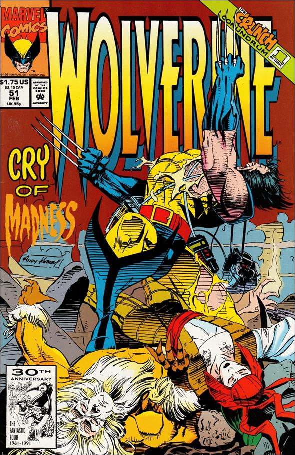 Wolverine (1988)  51-A by Marvel