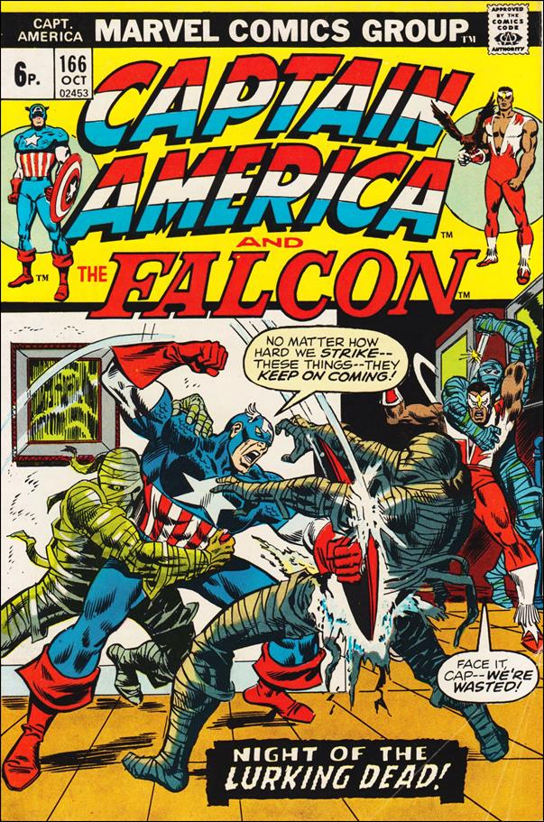 Captain America (1968) 166-B by Marvel