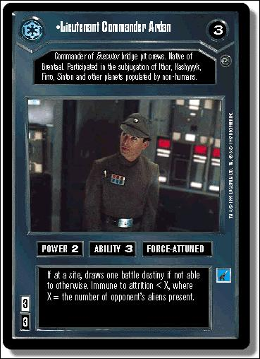 Star Wars: Dagobah Limited (Base Set)14-A by Decipher