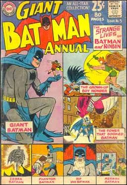 Batman Annual (1961) 5-A by DC
