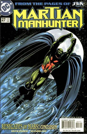 Martian Manhunter (1998) 27-A by DC