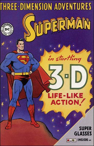 Superman 3-D (1997) 1-A by DC
