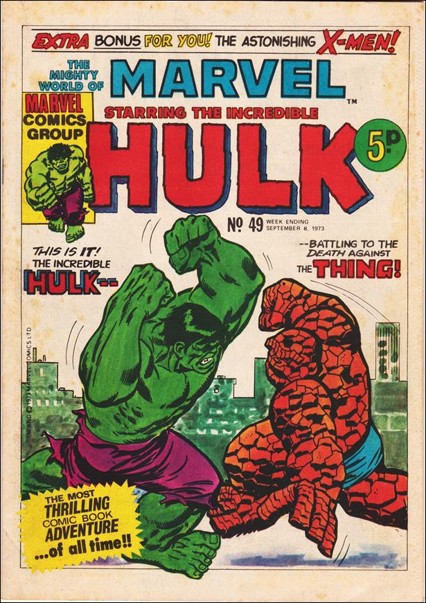 Mighty World of Marvel (UK) (1972) 49-A by Marvel UK