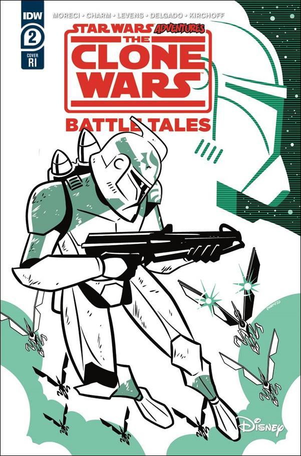 Star Wars Adventures: The Clone Wars - Battle Tales 2-B by IDW