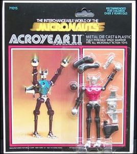 Micronauts (Series 2) Acroyear II by Mego