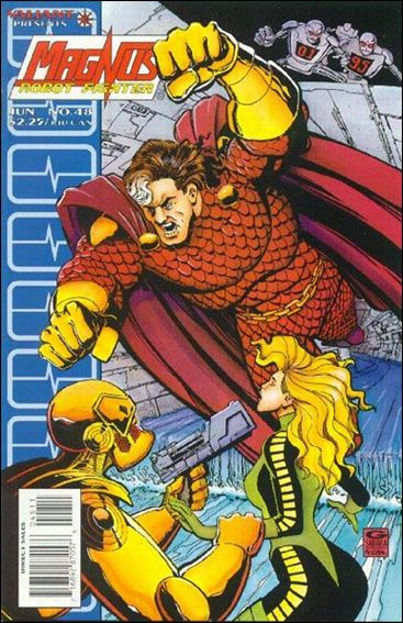 Magnus Robot Fighter (1991) 48-A by Valiant