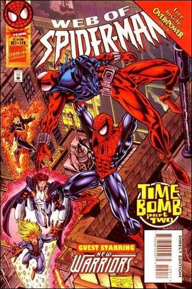 Web of Spider-Man (1985) 129-A by Marvel