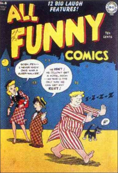 All Funny Comics 6-A by DC