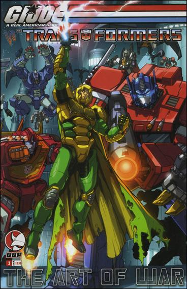 G.I. Joe vs the Transformers: The Art of War 3-A by Devil's Due