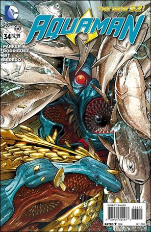 Aquaman (2011) 34-A