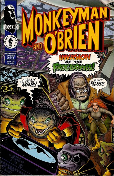 Monkeyman & O'Brien 2-A by Dark Horse