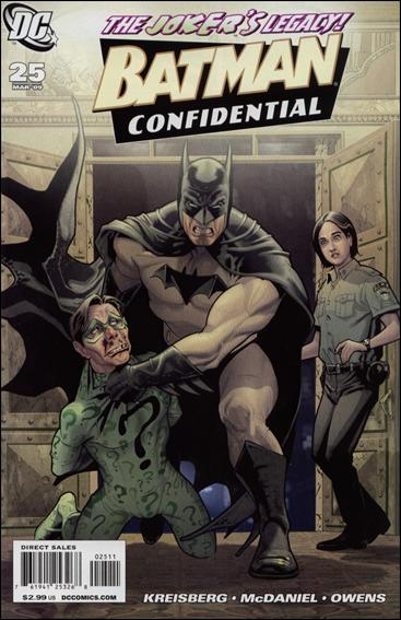 Batman Confidential 25-A by DC