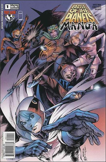 Battle of the Planets: Manga 1-A by Top Cow