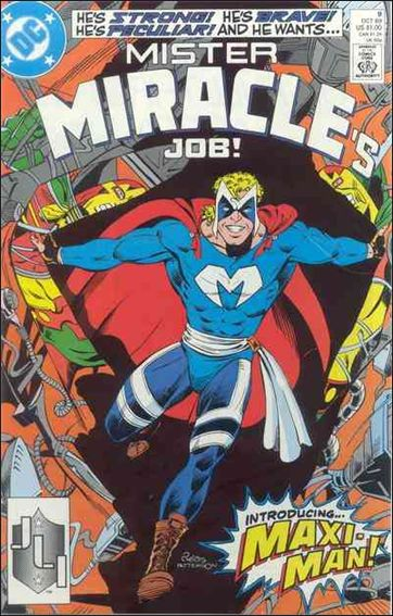 Mister Miracle (1989) 9-A by DC