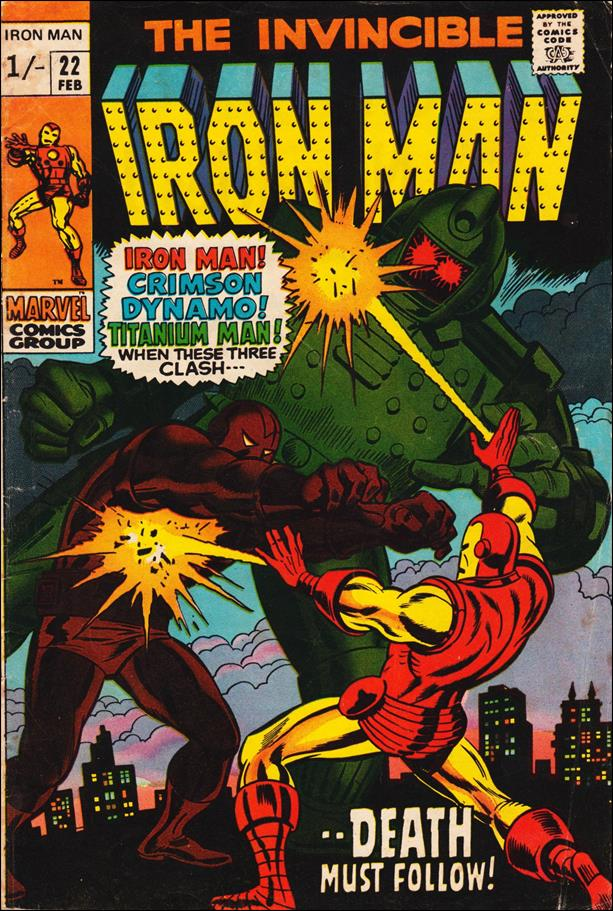 Iron Man (1968) 22-B by Marvel